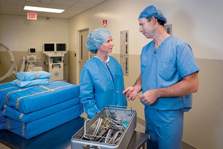 Dr. Geller and Deidre Cavanagh